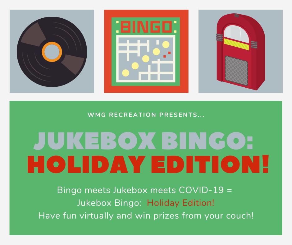Jukebox Bingo Holiday Style Goshen Ct